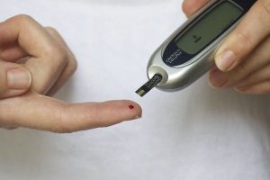 Forgetting the natural sugar in the body_Blood Glucose Monitor